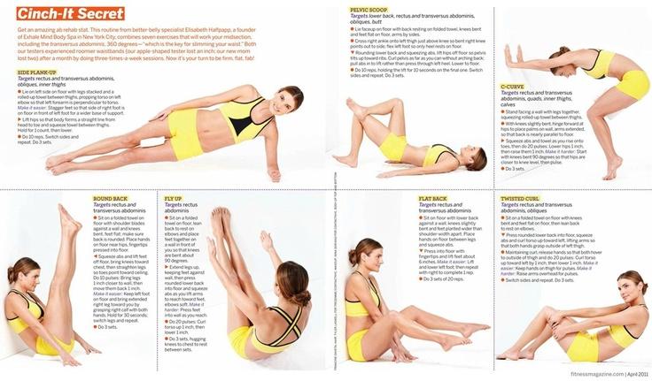 Fitness Magazine: Cinch-It Secret