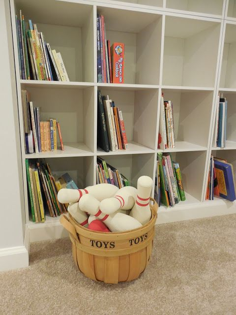 basement storage ideas kids pinterest