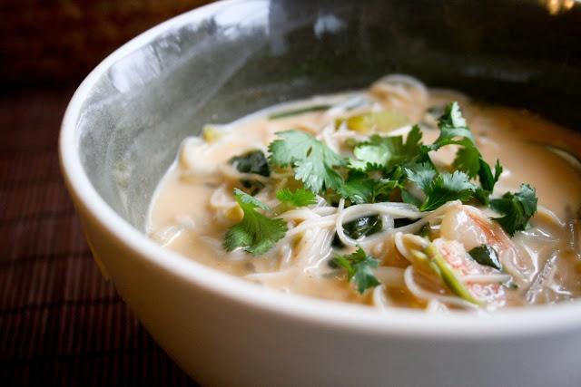 Thai coconut shrimp soup | Recettes délicieuses! | Pinterest