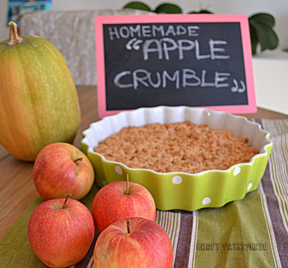 homemade apple crumble, welcome fall!   My Blog - CraftPatisserie   P ...