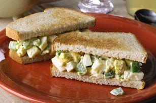 Easy Egg Salad Sandwich recipe