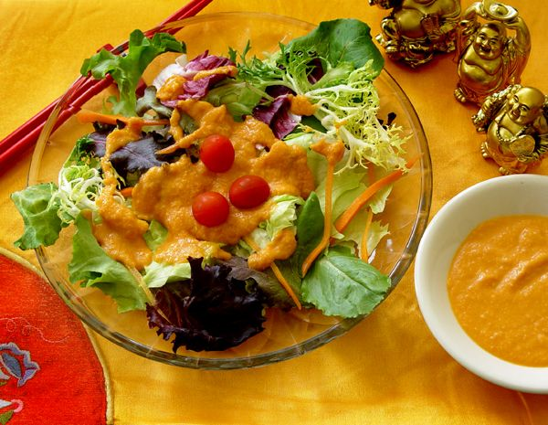 Asian style salad dressing