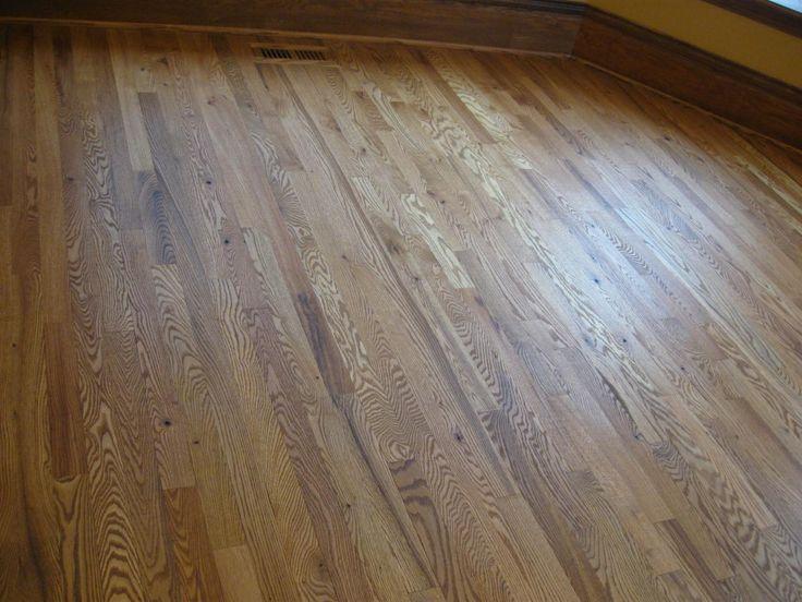 Special walnut stain on red oak frank vandeputte for Franks flooring