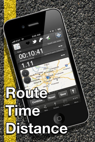 free distance tracker app for iphone