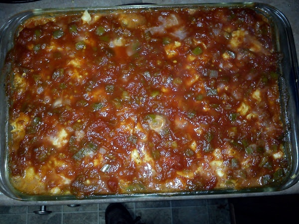 """Chili Relleno Pie! 5.00 stars, 2 reviews. """"It was delicious my kids ..."""