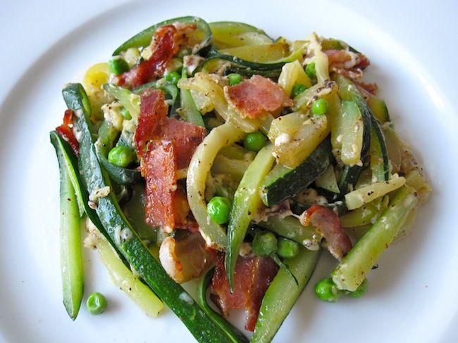 Zucchini Carbonara, Holistic | Recipe