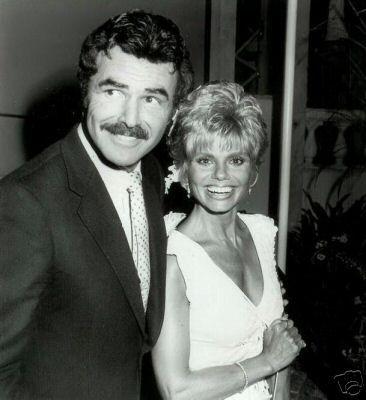 Burt Reynolds and Loni Anderson