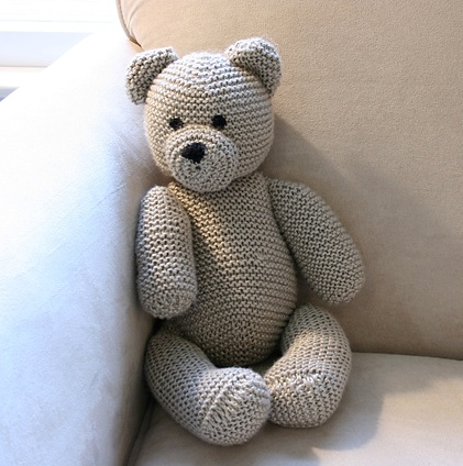 Teddy bear pattern Knitting Pinterest