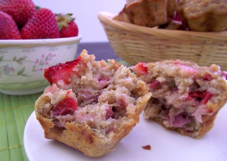 strawberry banana quinoa muffins | Muffins | Pinterest