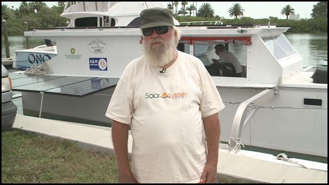 Solar powered boat to make 6 month journey   wtsp.com