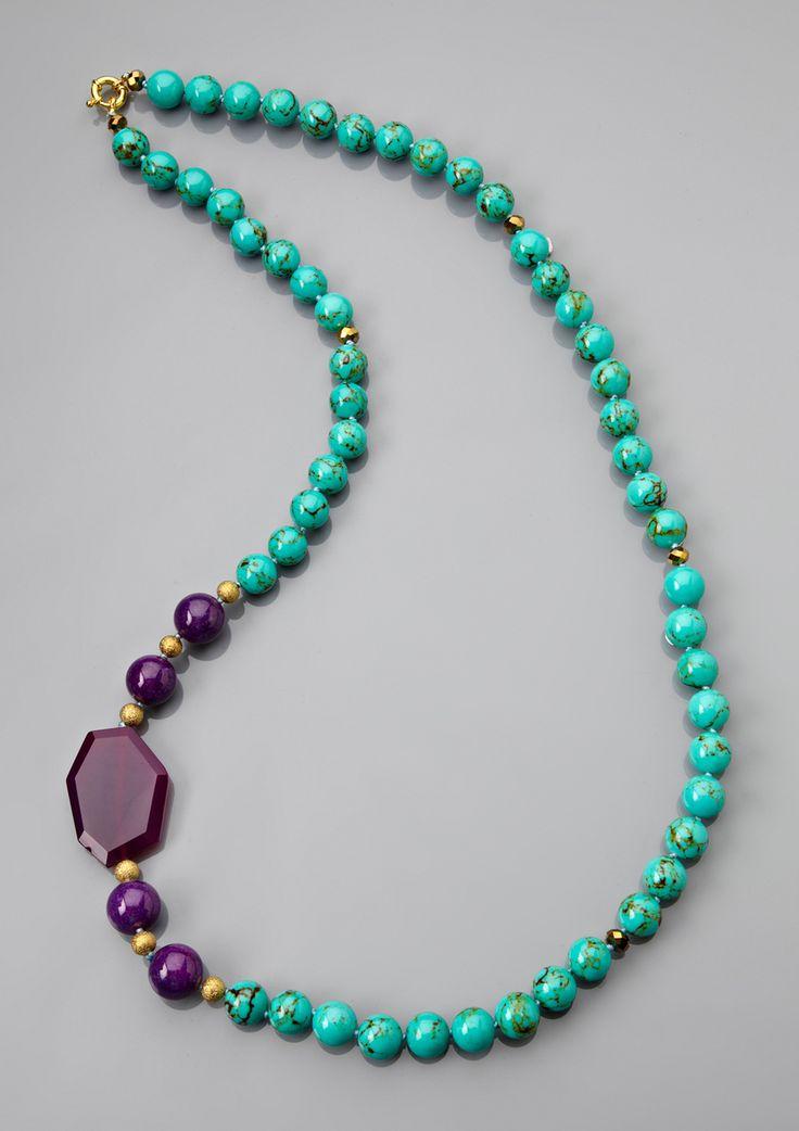 Jardin glass bead necklace jewelry making pinterest for Jardin necklace