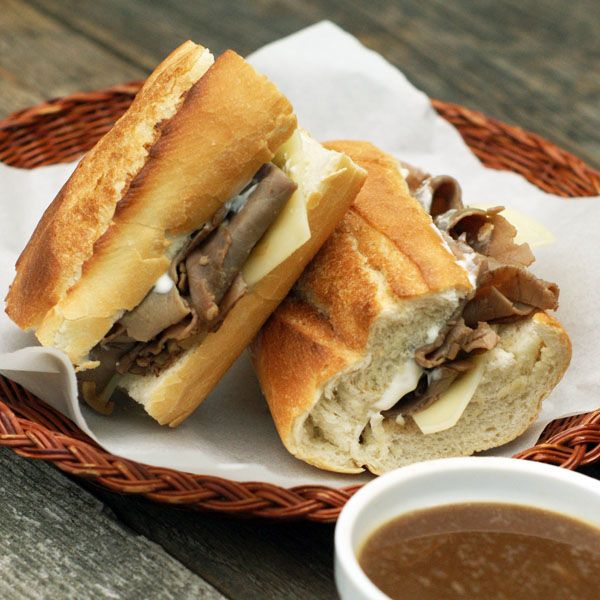 Easy French Dip Sandwiches | Recipe