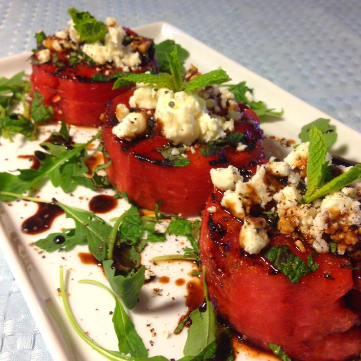 salad with feta cheese chopped vegetable watermelon and feta salad ...