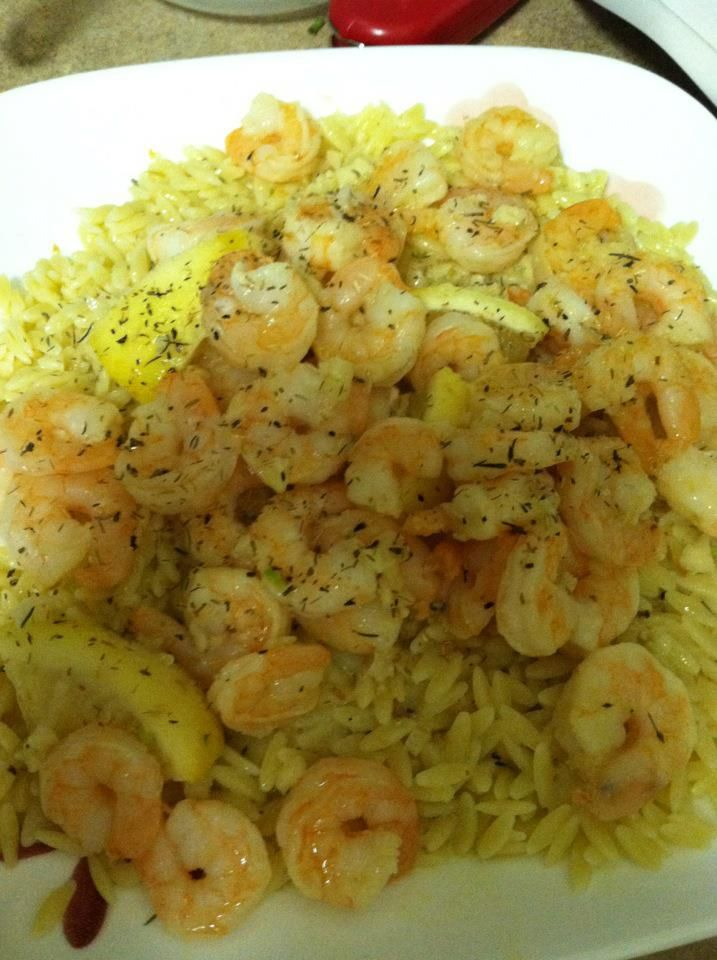 Roasted Lemon Garlic Herb Shrimp | Nom nom nom | Pinterest