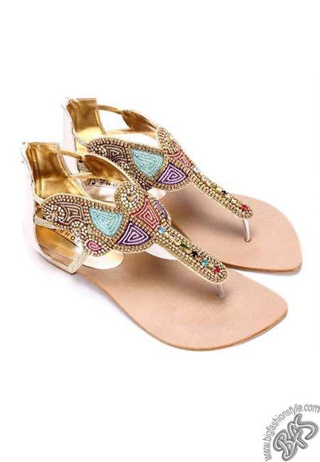 Party Wear Sandals | Fashion Accessories | Pinterest