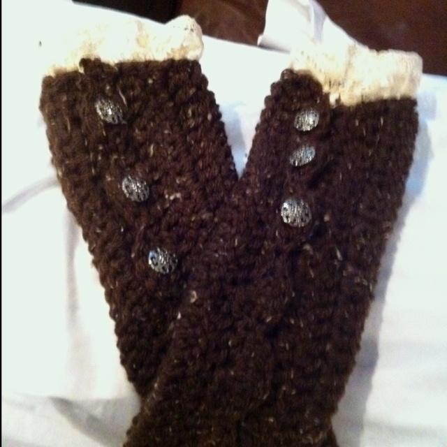 Crochet Leg Warmers : Crochet leg-warmers My Style Pinterest