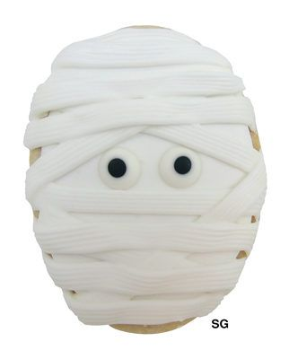 egg cutter-> mummy cookies and bees.....