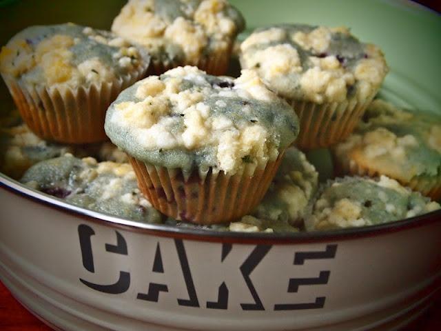 Blackberry, Lemon & Thyme Muffins | Recipes | Pinterest