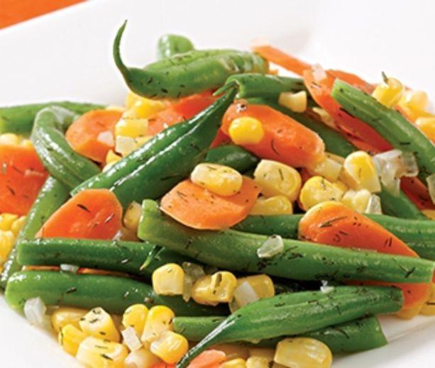 Quick Vegetable Sauté | Diabetic | Pinterest