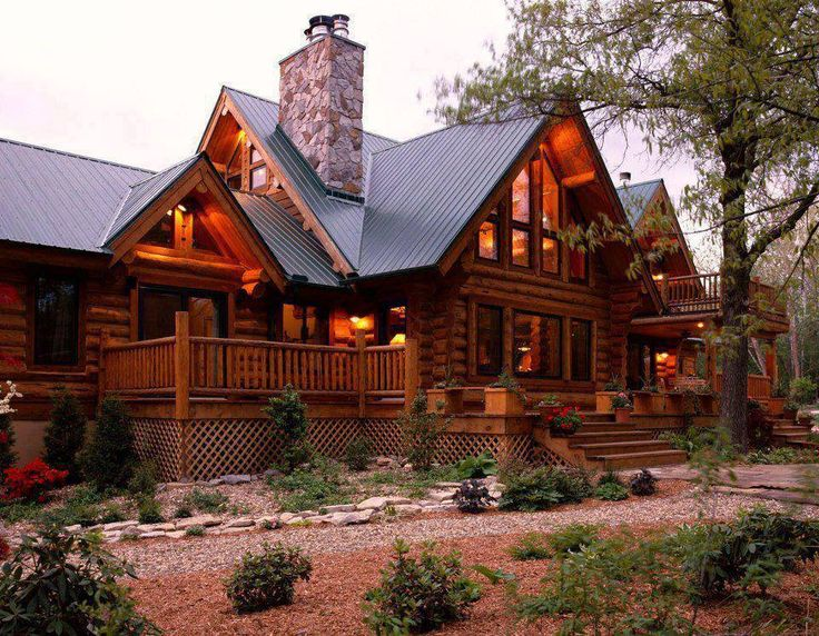 beautiful log home homes pinterest. Black Bedroom Furniture Sets. Home Design Ideas
