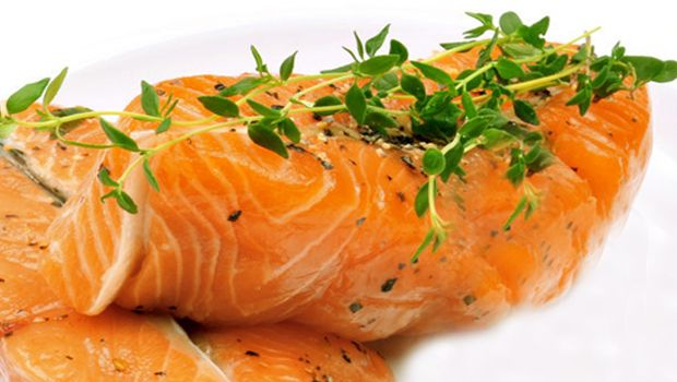 ... rosemary grilled salmon recipe yummly grilled salmon with thyme cream