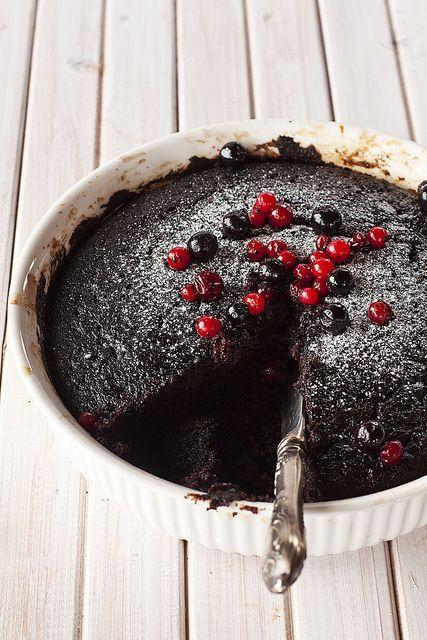 deep dark chocolate pudding | ~ Chocolate ~ | Pinterest
