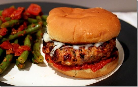 healthy chicken parmesan burgers | 1. Recipes to Try | Pinterest