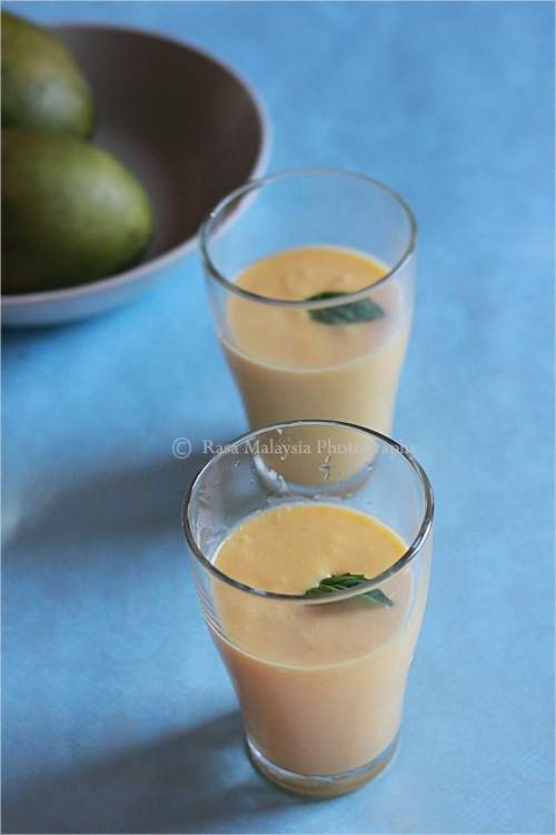 Mango Lassi Recipe: 2 ripe mangoes 2-3 tablespoons honey or to taste 1 ...
