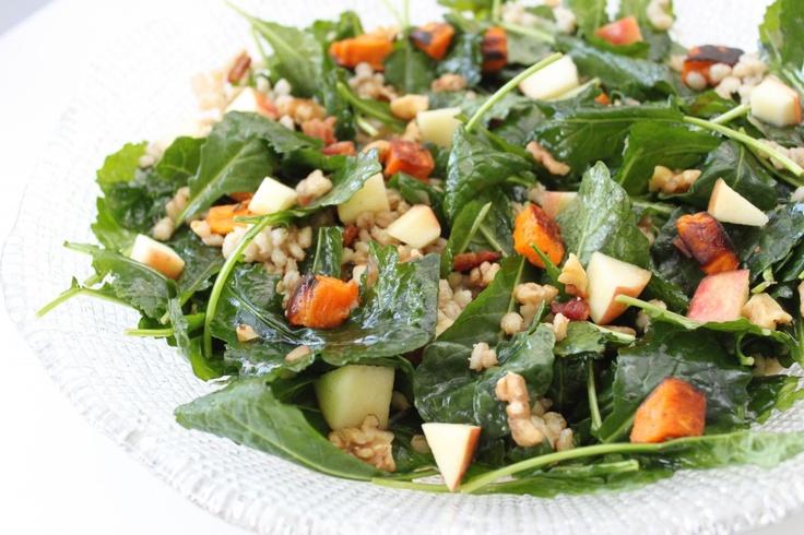 Roasted Sweet Potato Salad With Chutney Vinaigrette Recipes ...