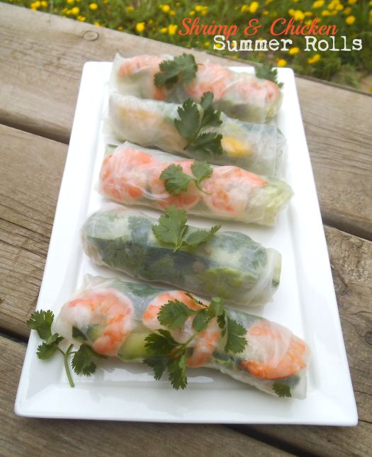 ... sauce summer rolls with baked tofu and sweet and savory dipping sauce