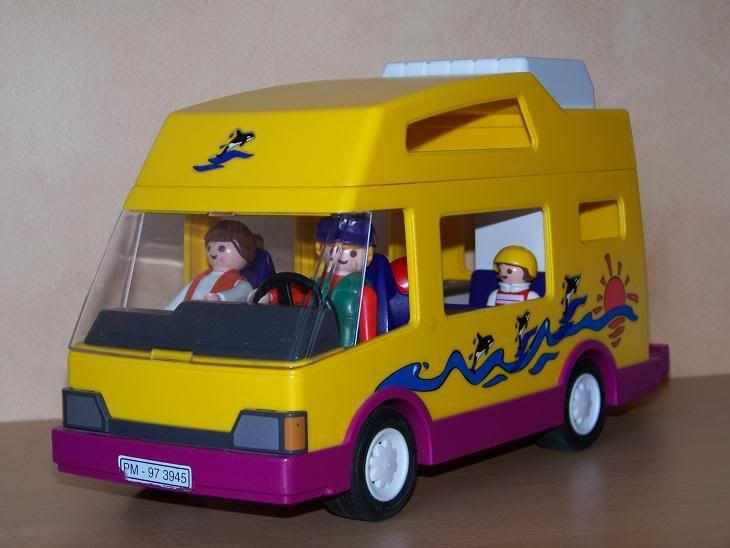 Playmobil camping car childhood pinterest - Camping car playmobil pas cher ...