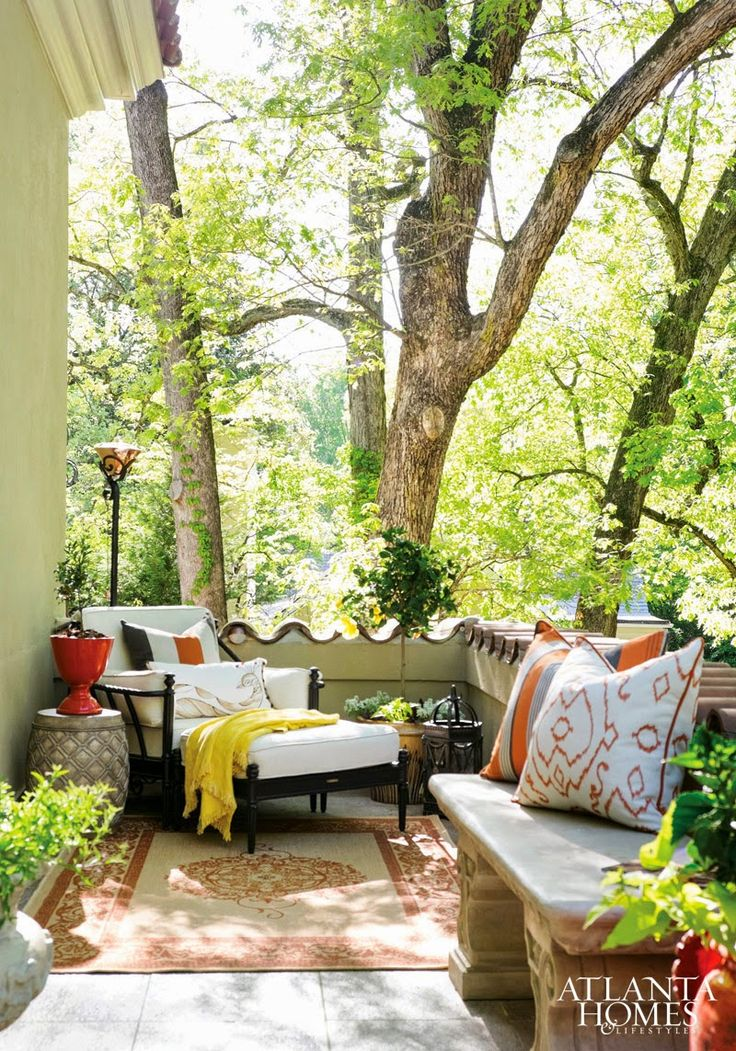 Make a small outdoor space cozy porch patio deck for Small outdoor spaces