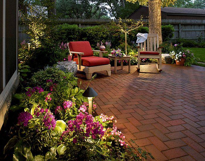 love the brick deck