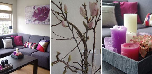 great awesome cool home u styling pinterest paarse woonkamer accessoires with roze accessoires woonkamer with roze decoratie woonkamer