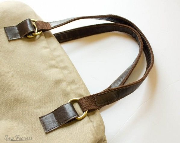 how to fix purse handles