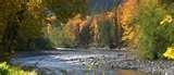 Fall on the Elwha River, WA