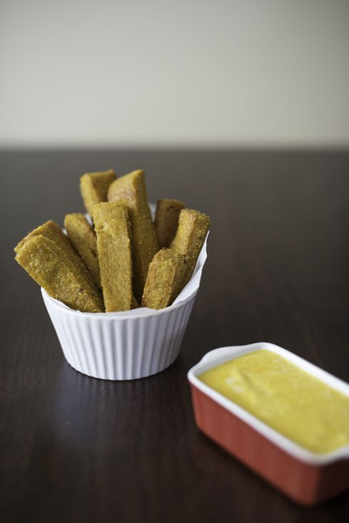 MadeByGirl: Food: ChickPea Fries | Let's Eat | Pinterest