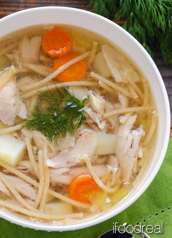 Healthy chicken noodle soup the key to a good chicken noodle soup