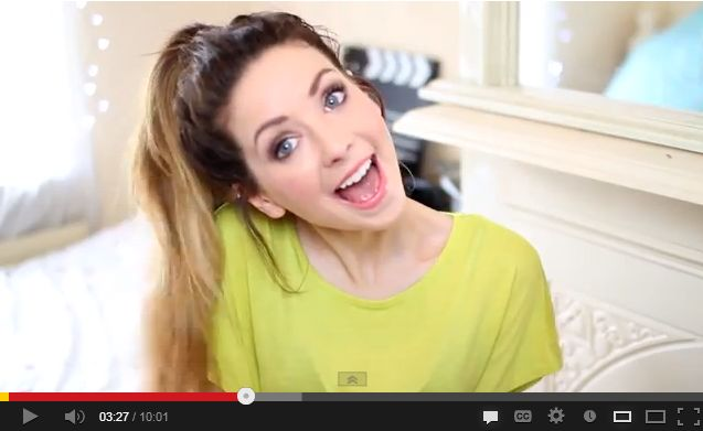 Zoella Hairstyles For School : Gallery of Zoella Hair Tutorial For School Picture Ideas With Wavy ...