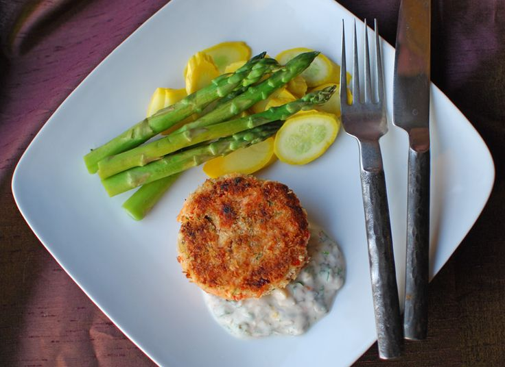 cod cakes with red pepper tarragon and yogurt remoulade make them ...