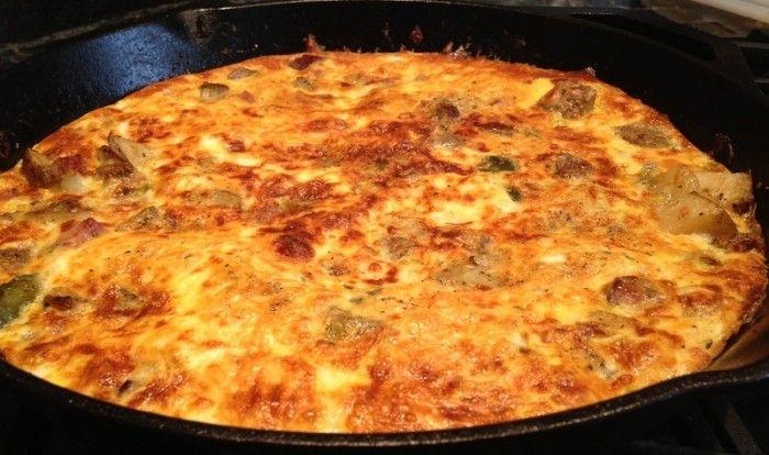 Italian Breakfast Frittata | Breakfast | Pinterest