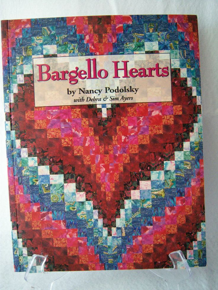 Quilt Book Bargello Hearts By Nancy Podolsky Technique For