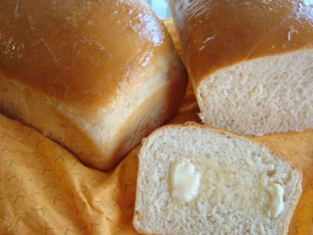 Amish White Bread Loaves | Recipe