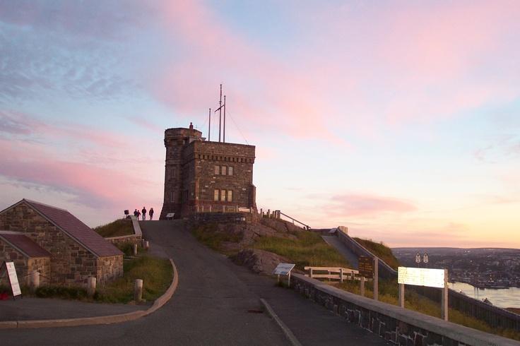 Cabot Tower, Signal Hill, St. John's, NL