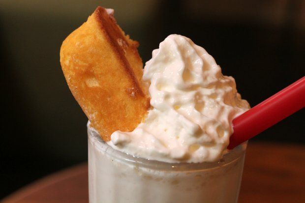 milkshake-soaked snack cake. You can't do it. Spiked Twinkie Milkshake ...
