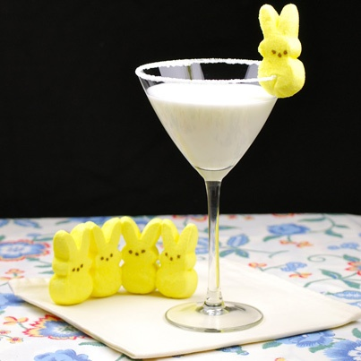 for a signature cocktail! This Easter whip up Marshmallow Peep'tini ...