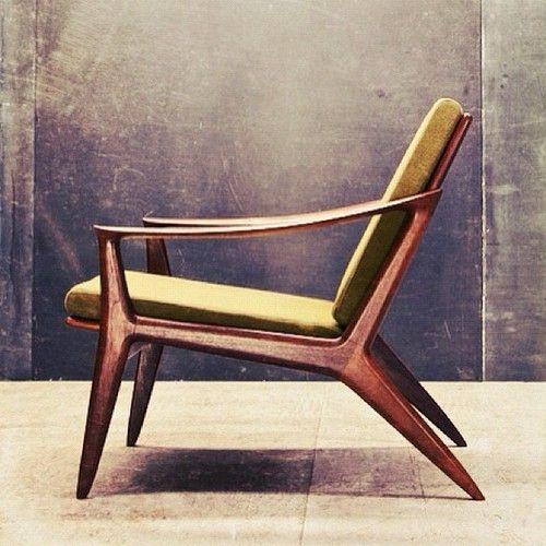 Danish Mid Century Chair CHAIRS Pinterest