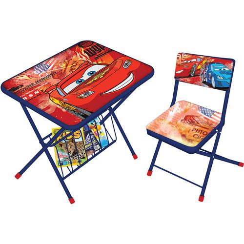 Licensed Activity Folding Desk And Chair Set
