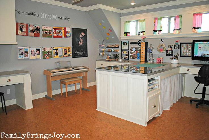 Home Decorating Pictures Craft Room Layout