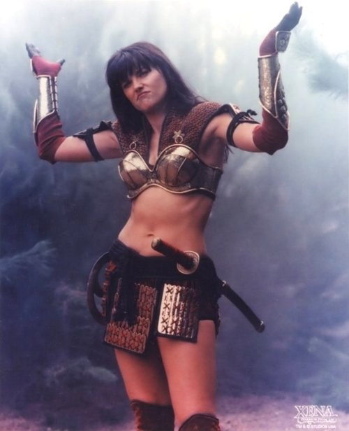 Zena Warrior Princess CostumeXena Warrior Princess Angry